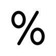 znak procent