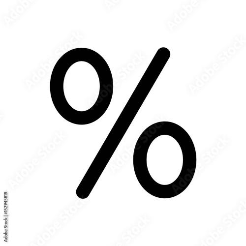 Fototapeta znak procent obraz
