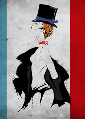 Obraz Cabaret girl