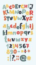 Multicolor Letters Set