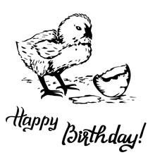 Happy Birthday Gift Card, Chic...