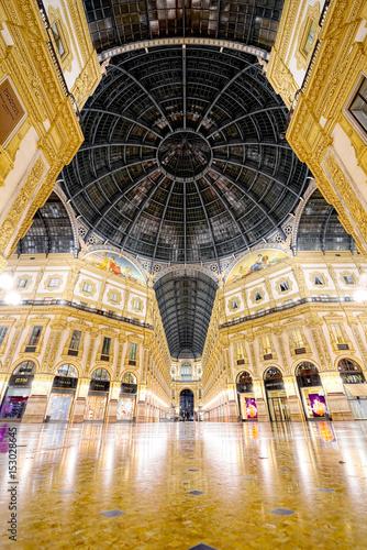 Plakat Noc Galleria Vittorio Emanuele II, Milan