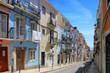 Streets of old Lisbon