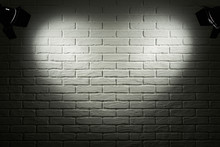 Dark And Grey Brick Wall With ...