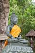 Green buddha status.