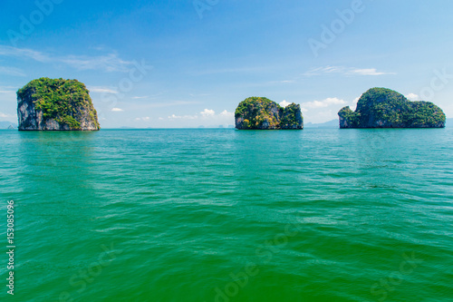 Foto op Plexiglas Eiland view of island group in Thailand, Phang nga