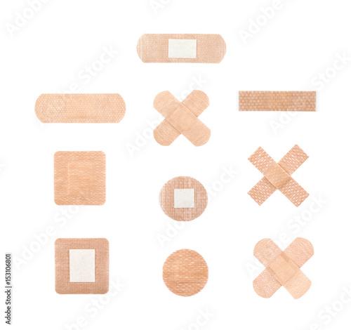 Adhesive bandage sticking plaster Fototapete