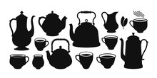 Tea Set, Silhouette. Kettle, T...