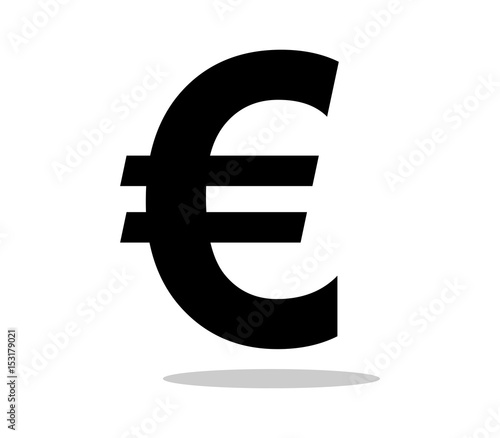 Cuadros en Lienzo Icon euro symbol