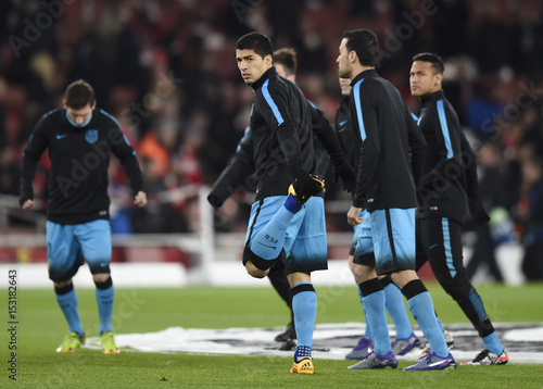 5a963d729a7 Arsenal v FC Barcelona - UEFA Champions League Round of 16 First Leg ...