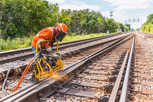 Railroad Track Welding And Grinding
