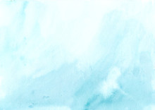 Watercolor Background Blue White, Soft Pastel Ink Splatter Texture