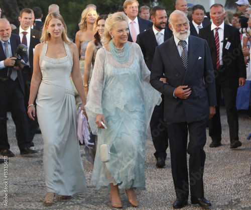 Prince and Princess Michael of Kent and their daugther Lady Windsor ...