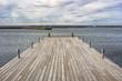 Wooden Pier in Borgholm, Sweden