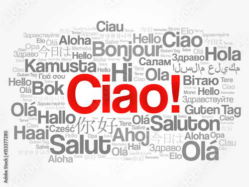 Printciao hello greeting in italian word cloud in different printciao hello greeting in italian word cloud in different languages of the world m4hsunfo