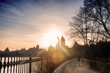 Central Park's Track Around Th...