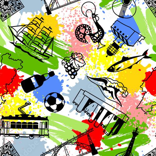 portugalski-kolorowy-wzor-pattern