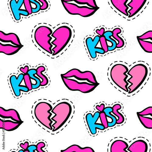 lips-hearts-and-kiss-patches-seamless