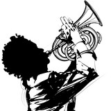 Trumpet player - 153439416