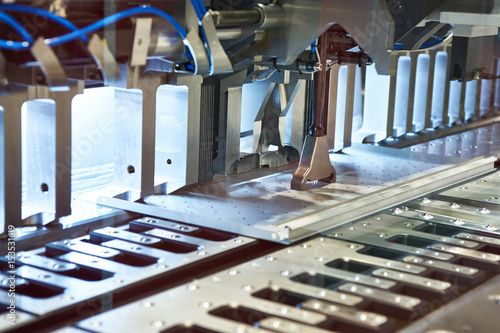 Compact automatic metal panel bending Poster