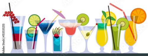 cocktail - verre - apéro - ...