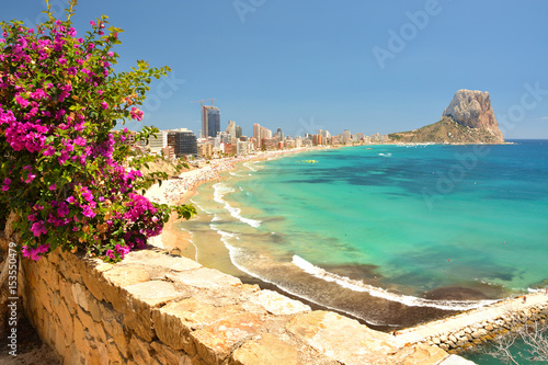 Fototapeta Colorful Mediterranean seascape