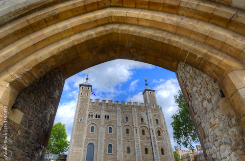 Photo Tower of London in London, UK