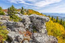 Fall Color At Bear Rocks - At ...