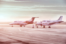 Private Jet Planes Parking At ...