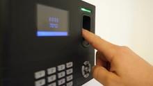 Fingerprint Employee Biometric Time Clock