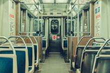 Subway Ride In Chicago