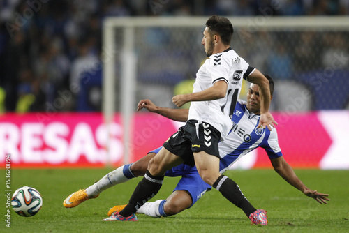 Porto s Carlos Casemiro (R) fights for the ball with Nacional s Joao ... 79b2287ab86b5