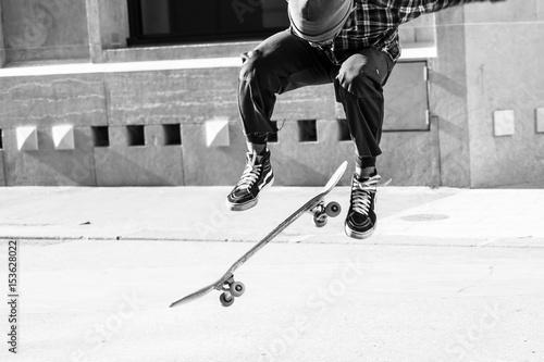 Valokuvatapetti skater