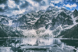 Fototapeta Mountains - Tatry - Morskie Oko