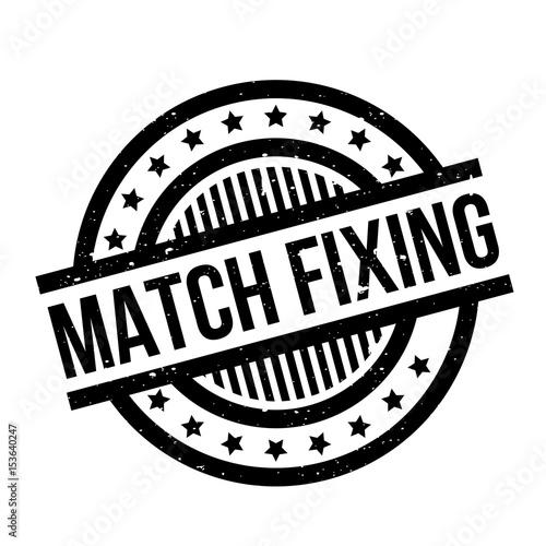 Match Fixing rubber stamp Wallpaper Mural