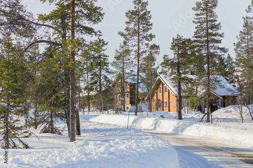 Photographie  Winter day in Lapland