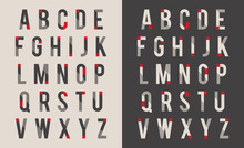 Decorative Alphabet Vector Font