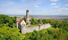 Aerial View On Altenburg Castl...