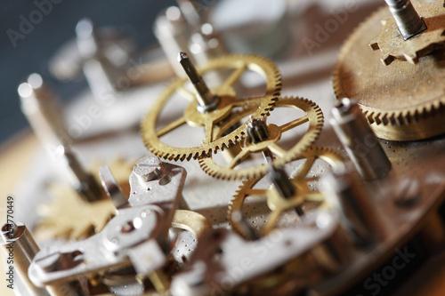 Plakaty Old Clock Mechanism