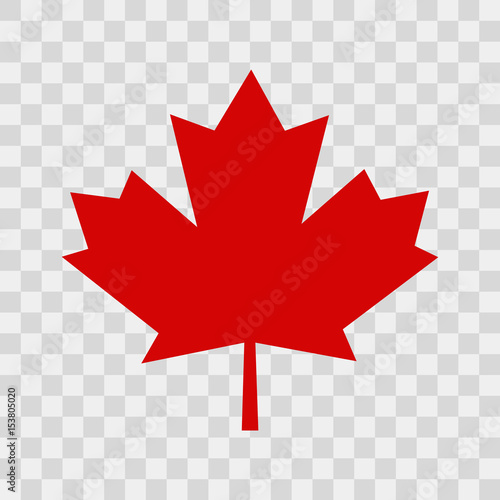 Fotografie, Obraz  Canada leaf