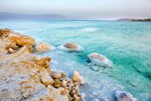View Of Dead Sea Coastline At ...