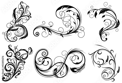 swirls design