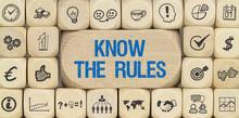 Know The Rules / Würfel Mit S.