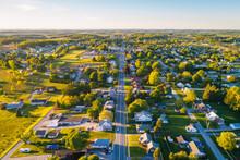 View Of Main Street In Shrewsbury, Pennsylvania/