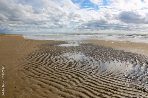 Spoed Foto op Canvas Noordzee North Sea of the Netherlands