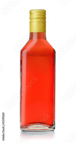 Bottle of red grape vinegar