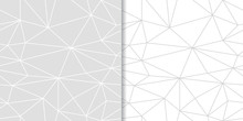 Abstract Gray Seamless Pattern...