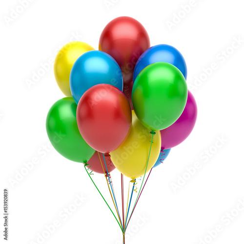 Fotografia, Obraz  Colorful balloons