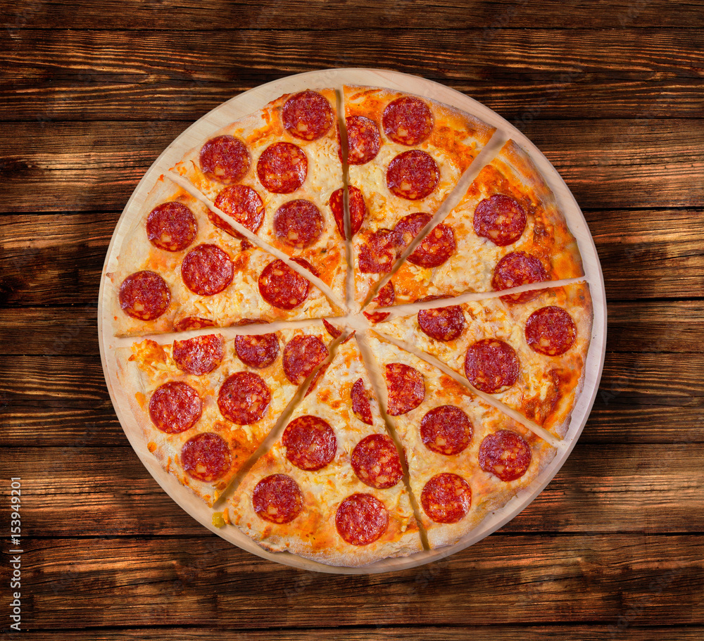 Pizza with seafood. This picture is perfect for you to design your restaurant menus. Visit my page. You will be able to find an image for every pizza sold in your cafe or restaurant.