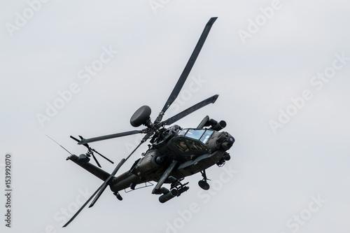 Kampfhubschrauber Apache AH-64 Canvas Print